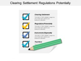 Clearing Settlement Regulations Potentially Instruments Especially Inflation Stability Cpb