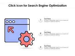 Click Icon For Search Engine Optimization