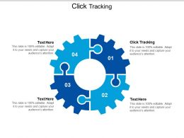 Click Tracking Ppt Powerpoint Presentation Icon Smartart Cpb