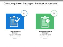 Client Acquisition Strategies Business Acquisition Strategies Leadership Ability