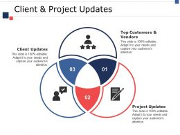 Client And Project Updates Ppt Pictures Shapes
