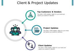 Client And Project Updates Ppt Summary