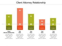 Client Attorney Relationship Ppt Powerpoint Presentation Layouts Templates Cpb