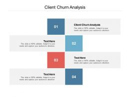 Client Churn Analysis Ppt Powerpoint Presentation Infographic Template Layout Cpb