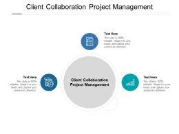 Client Collaboration Project Management Ppt Powerpoint Presentation Inspiration Structure Cpb