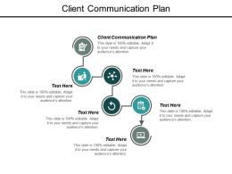 Client Communication Plan Ppt Powerpoint Presentation Outline Model Cpb