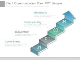 Client Communication Plan Ppt Sample