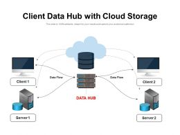 Client Data Hub With Cloud Storage