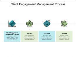 Client Engagement Management Process Ppt Powerpoint Presentation Infographics Cpb