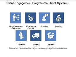 Client Engagement Programme Client System Services Corporate Performance Management Cpb