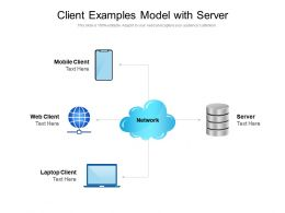Client Examples Model With Server