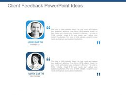 Client Feedback Powerpoint Ideas