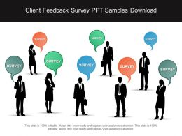 Client Feedback Survey Ppt Samples Download