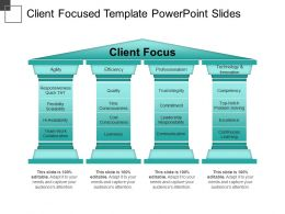 Client Focused Template PowerPoint Slides