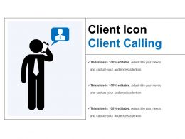 Client Icon Client Calling