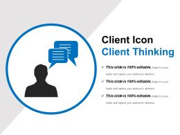 Client Icon Client Thinking