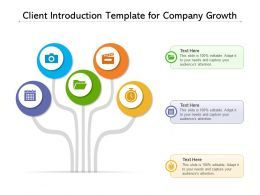 Client Introduction Template For Company Growth