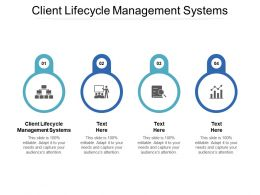 Client Lifecycle Management Systems Ppt Powerpoint Presentation Gallery
