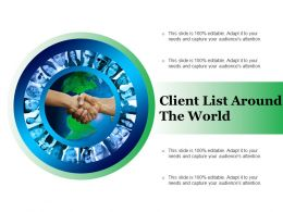 Client List Around The World