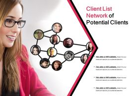 Client List Network Of Potential Clients