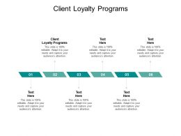 Client Loyalty Programs Ppt Powerpoint Presentation Outline Master Slide Cpb