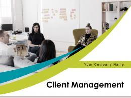 Client Management Lifecycle Framework Partnership Performance Measurement Dashboard