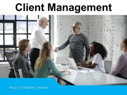 Client Management Strategies Financial Dashboard Commercial Mitigation Identification