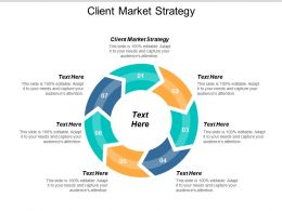 Client Market Strategy Ppt Powerpoint Presentation Icon Summary Cpb