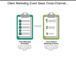 Client Marketing Event Ideas Cross Channel Marketing Solutions Cpb