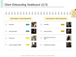 Client Onboarding Dashboard N460 Powerpoint Presentation Pictures