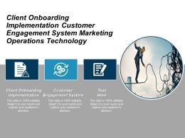 Client Onboarding Implementation Customer Engagement System Marketing Operations Technology Cpb