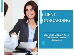Client Onboarding Powerpoint Presentation Slides