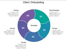 Client Onboarding Ppt Powerpoint Presentation Outline Show Cpb