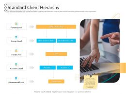 Client Onboarding Process Automation Standard Client Hierarchy Ppt Powerpoint Presentation Shapes