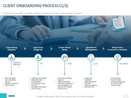 Client Onboarding Process Management Ppt Powerpoint Presentation Layouts Brochure