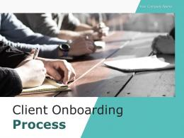 Client Onboarding Process Project Statistics Research Technology Agreement Management
