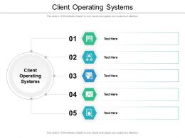 Client Operating Systems Ppt Powerpoint Presentation Infographics Layouts Cpb