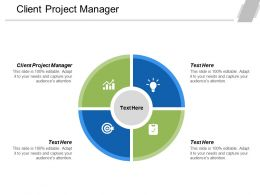 Client Project Manager Ppt Powerpoint Presentation Ideas Inspiration Cpb