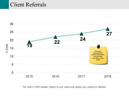Client Referrals Powerpoint Layout