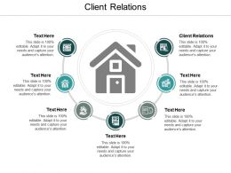 Client Relations Ppt Powerpoint Presentation Icon Structure Cpb