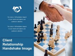 Client Relationship Handshake Image