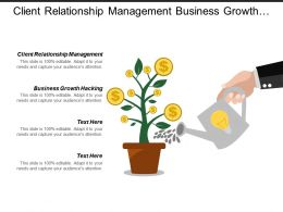 Client Relationship Management Business Growth Hacking Organisation Structure