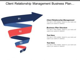 Client Relationship Management Business Plan Structure Small Business Opportunity