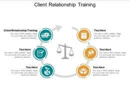 Client Relationship Training Ppt Powerpoint Presentation Infographics Graphic Tips Cpb