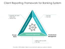 Client Reporting Framework For Banking System