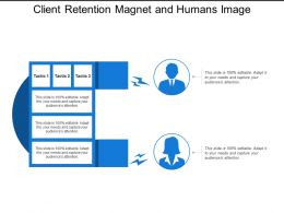 Client Retention Magnet And Humans Image
