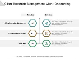 Client Retention Management Client Onboarding Team Financial Planning Cpb