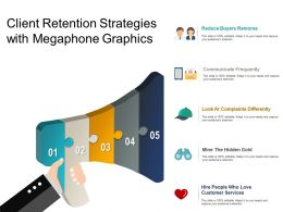 Client Retention Strategies With Megaphone Graphics