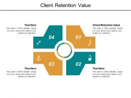 Client Retention Value Ppt Powerpoint Presentation File Professional Cpb