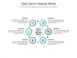 Client Server Network Model Ppt Powerpoint Presentation Outline Images Cpb